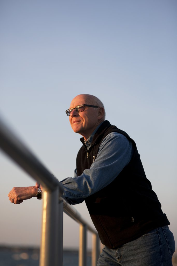 20140920 -- Clemens Carl Schoenebeck was photographed in Swampscott, MA, United States on Saturday, September 20, 2014. Schoenebeck is the author of Dancing with Fireflies. (Photo by Yoon S. Byun)